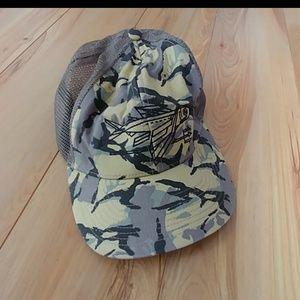 Patagonia camo army green print hat ball cap